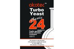 Дрожжи спиртовые турбо Alcotec 24